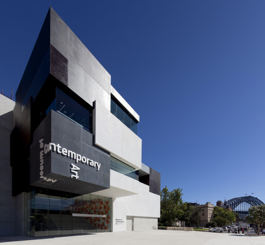 Exterior of the new MCA on Circular Quay West Image courtesy and © the Museum of Contemporary Art Limited Brett Boardman