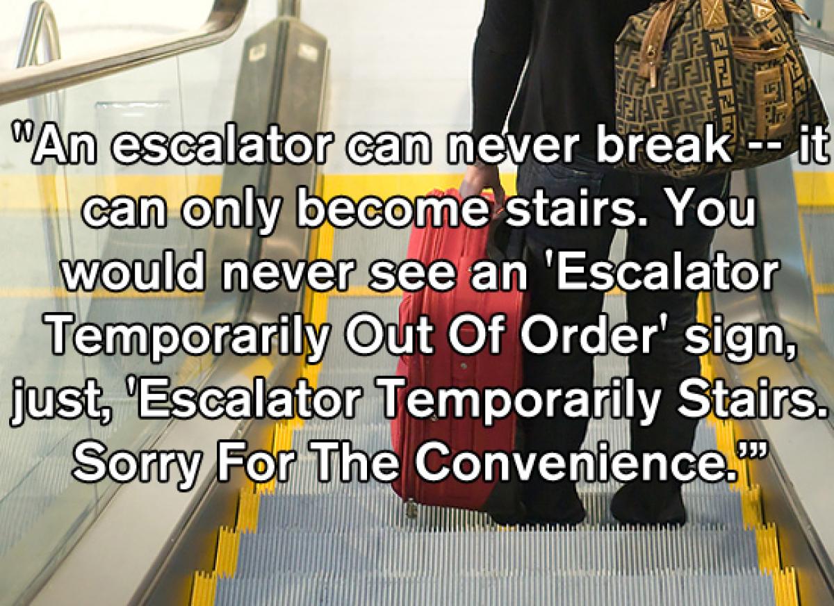 "(Photo: <a href=""http://www.bigstockphoto.com/image-2364509/stock-photo-airport-escalator-traveler"" target=""_hplink"">""Escalat"