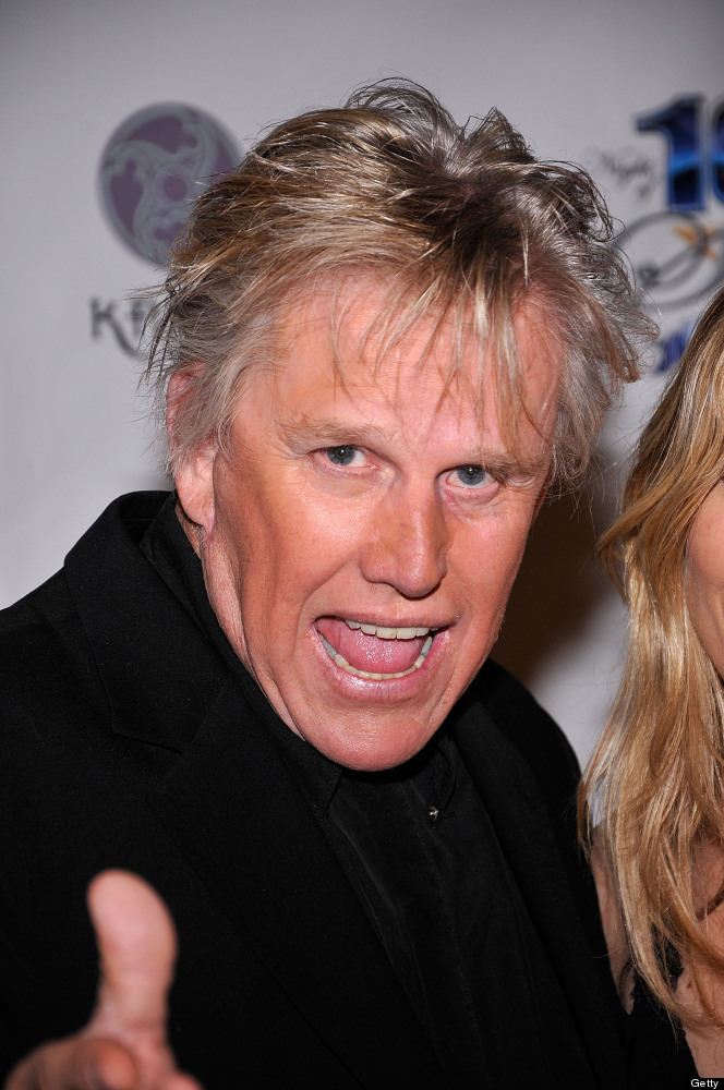 BEVERLY HILLS, CA - FEBRUARY 26:  Actor Gary Busey arrives at Norby Walters' 22nd Annual Night Of 100 Stars Viewing Gala at t
