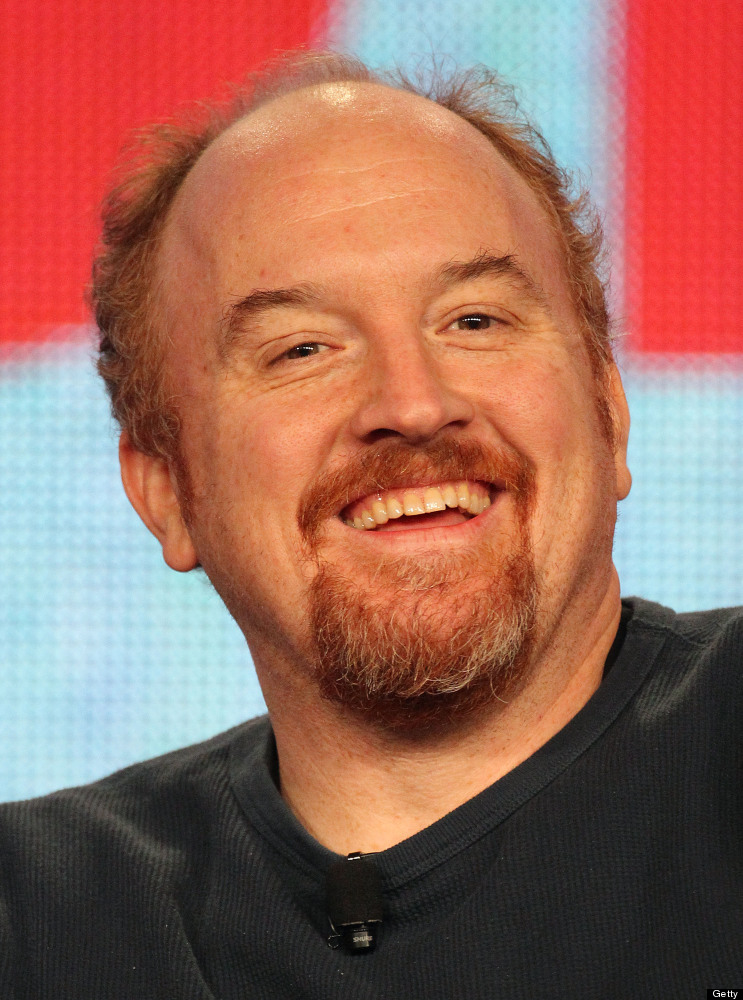 PASADENA, CA - JANUARY 15: Actor Louis C. K. of the television show 'Louie' speaks during the FX portion of the 2012 Winter T