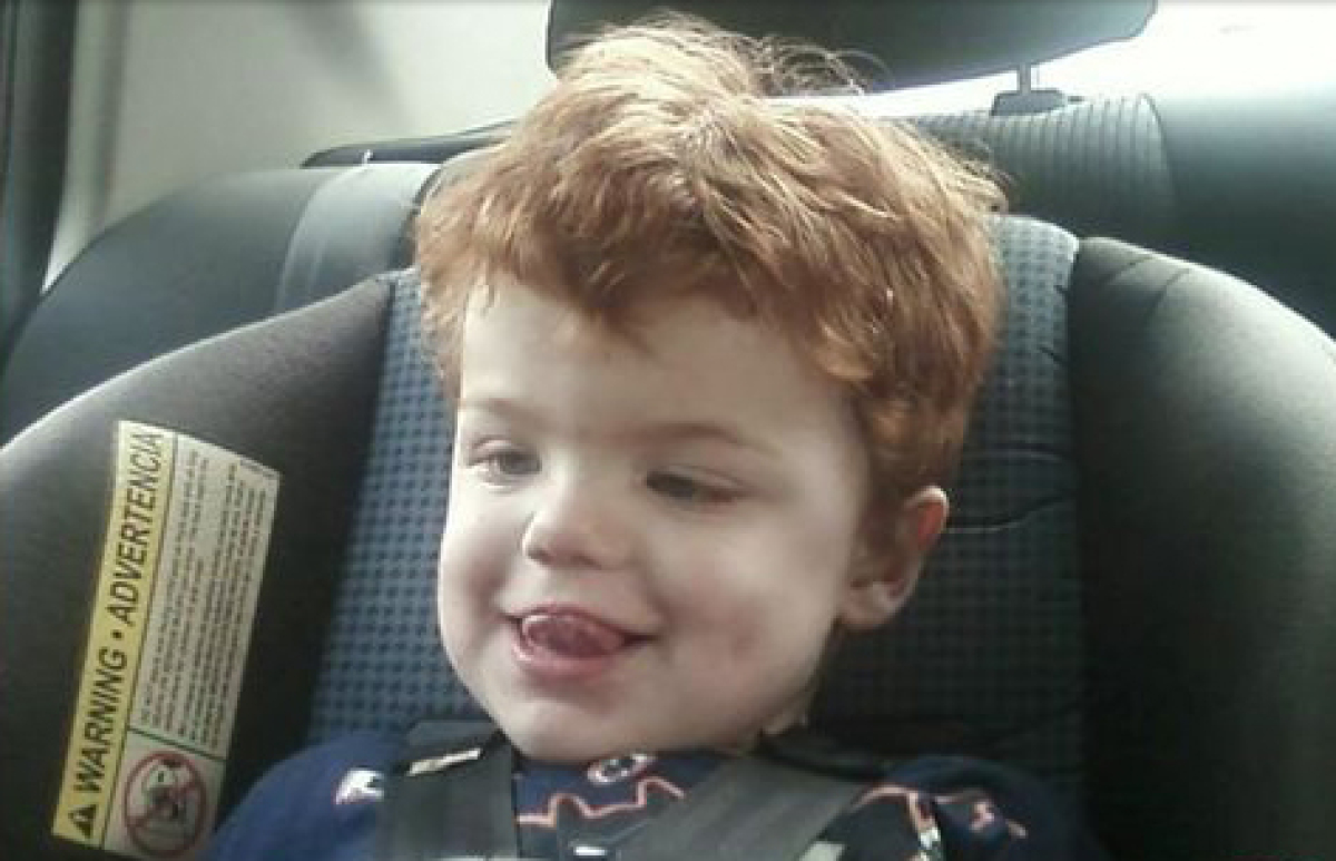 Authorities are searching for Devin Davis, a 2-year-old boy from Cleveland, Texas, who is believed to have wandered from his