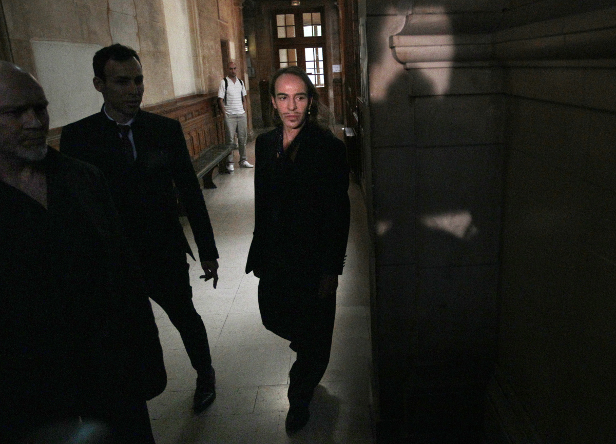 <strong>John Galliano</strong>'s overnight toppling from fashion royalty was the scandal that jarred the international fashio