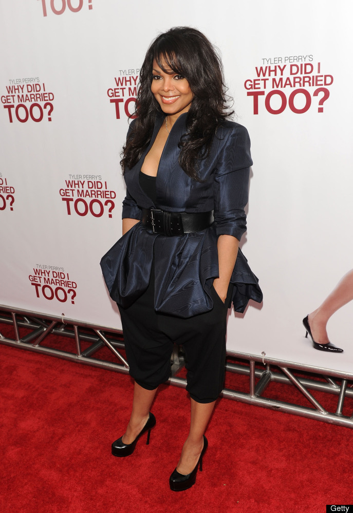 Actress Janet Jackson attends the special screening of 'Why Did I Get Married Too?' at the School of Visual Arts Theater on M