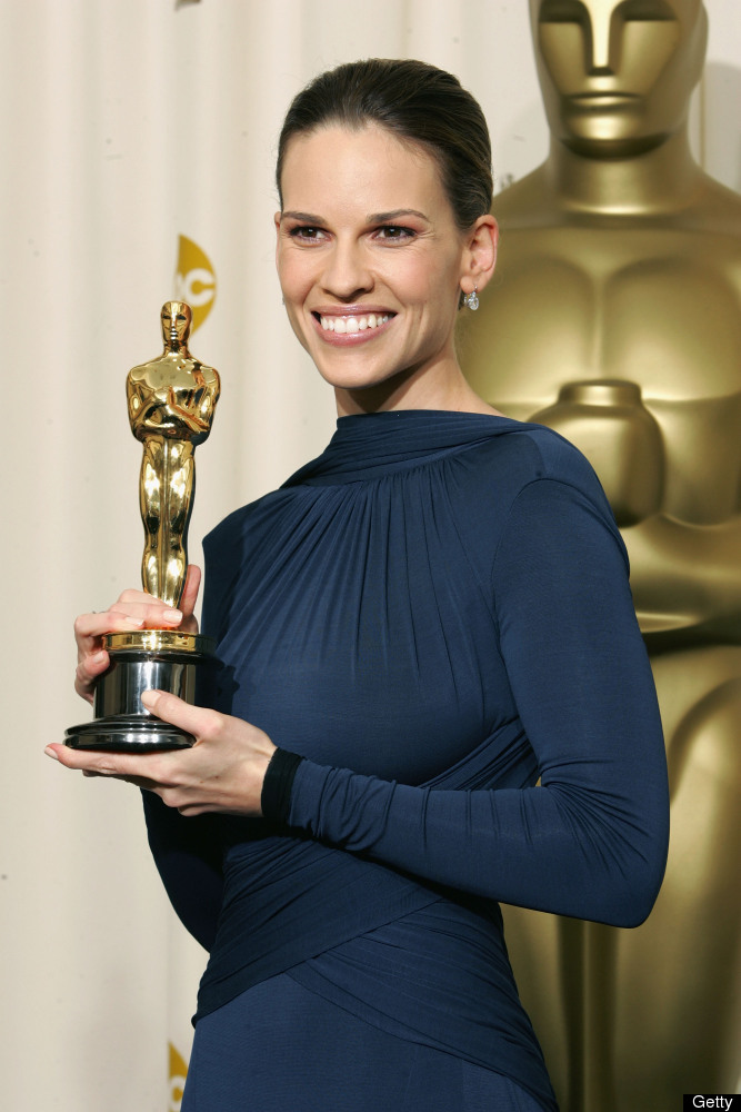 "Hilary Swank gained some weight and won Best Actress in 2005 for her role as a boxer in ""Million Dollar Baby."" 