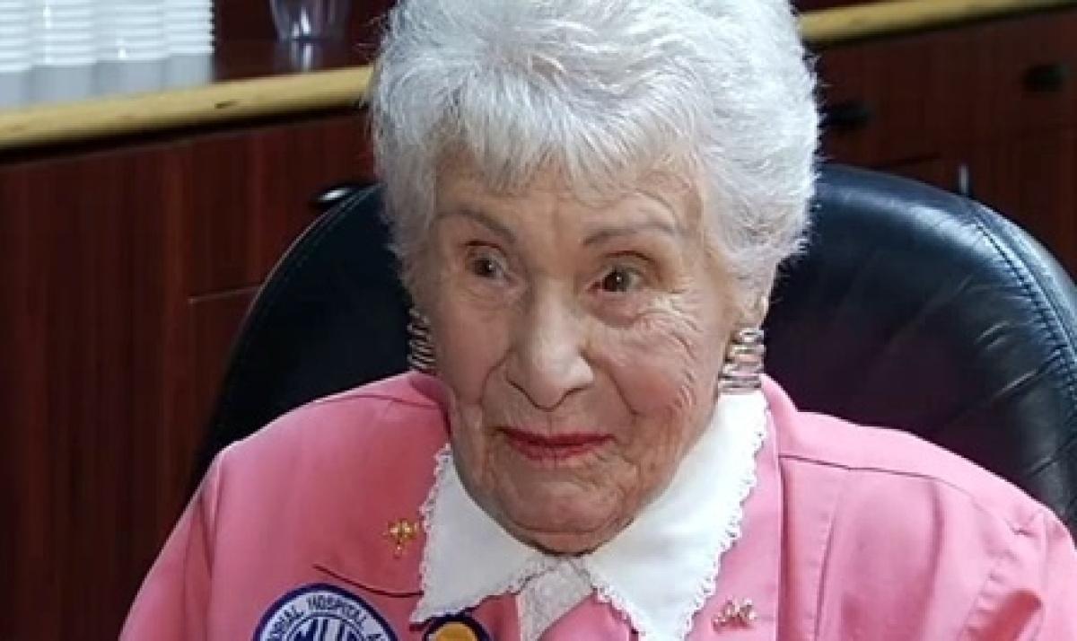 """For her 105th birthday, <a href=""""http://www.huffingtonpost.com/2012/02/10/dorrie-aber-noyek-105-yea_n_1267975.html"""" target=""""_"""