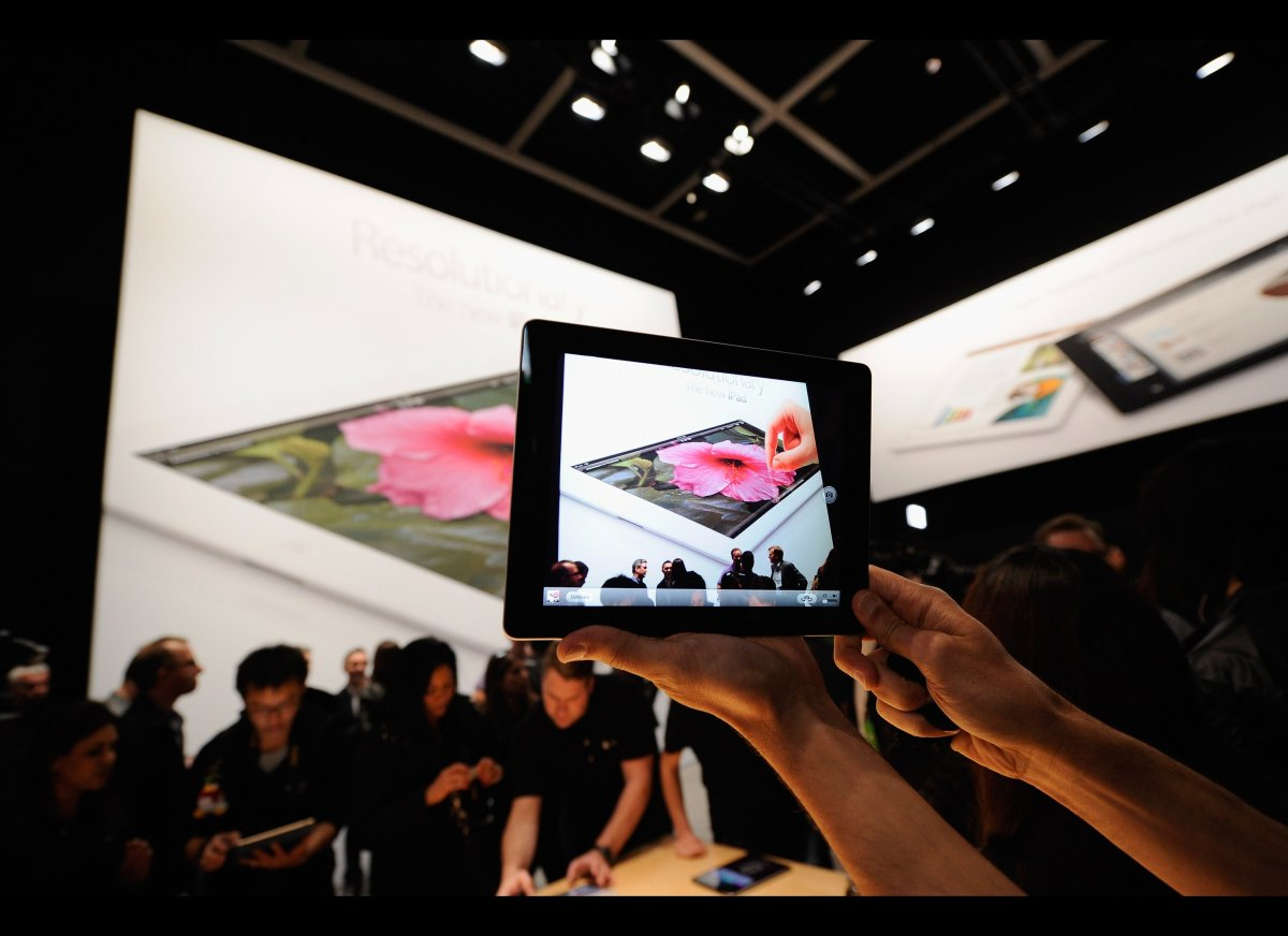 """""""The high-resolution screen of the new iPad establishes a new benchmark in excellence, providing the best rendering of detail"""