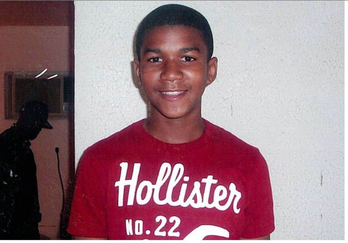 This family photo taken at age 12 was one of the first images used when Trayvon Martin's death made national news.