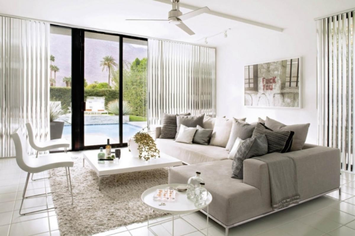 Fashion Designer David Meister\'s Modern Palm Springs Home (PHOTOS ...