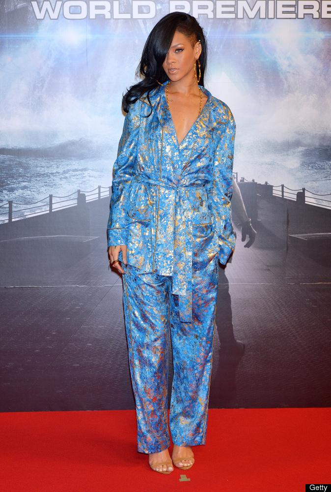 TOKYO, JAPAN - APRIL 03:  Actress/singer Rihanna attends the 'Battleship' Japan Premiere at International Yoyogi first gymnas