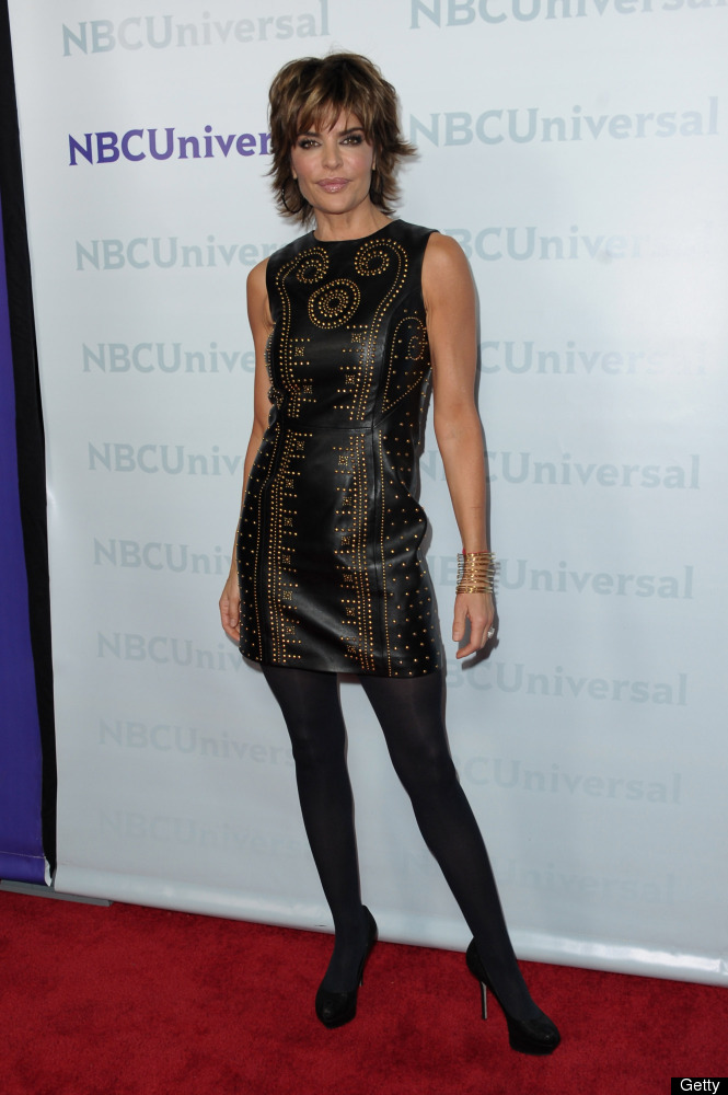 Actress Lisa Rinna arrives to the NBC Universal 2012 Winter TCA Tour All-Star Party.