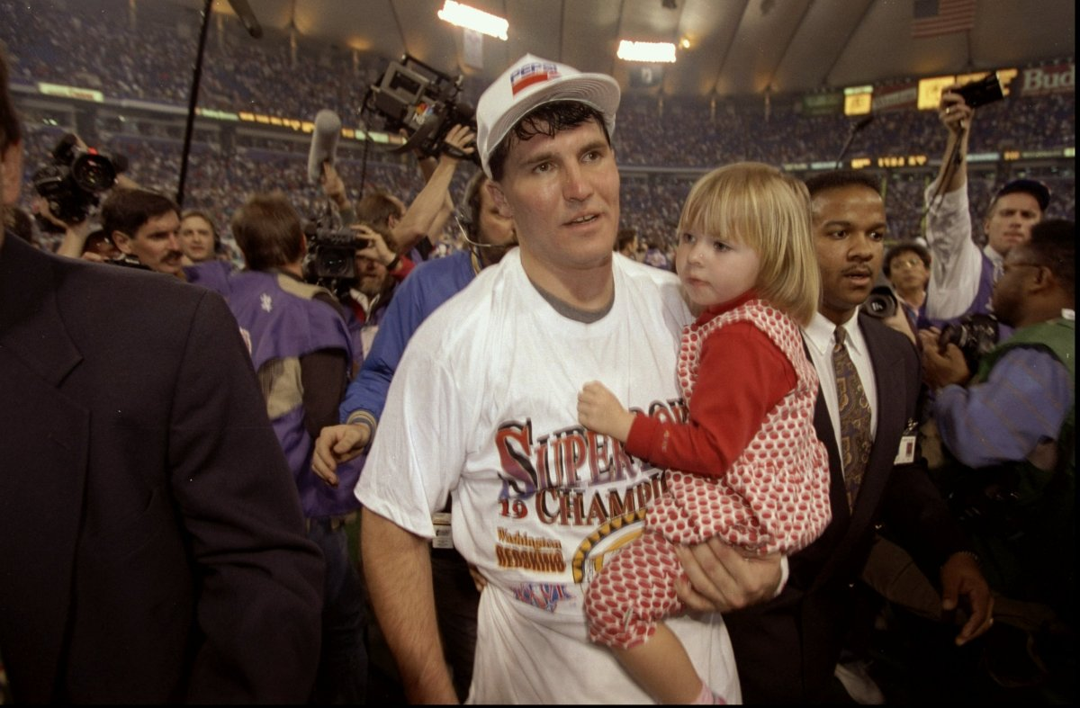 Since winning the 1992 Super Bowl behind MVP Mark Rypien (pictured above), times have been tough at quarterback for the Washi