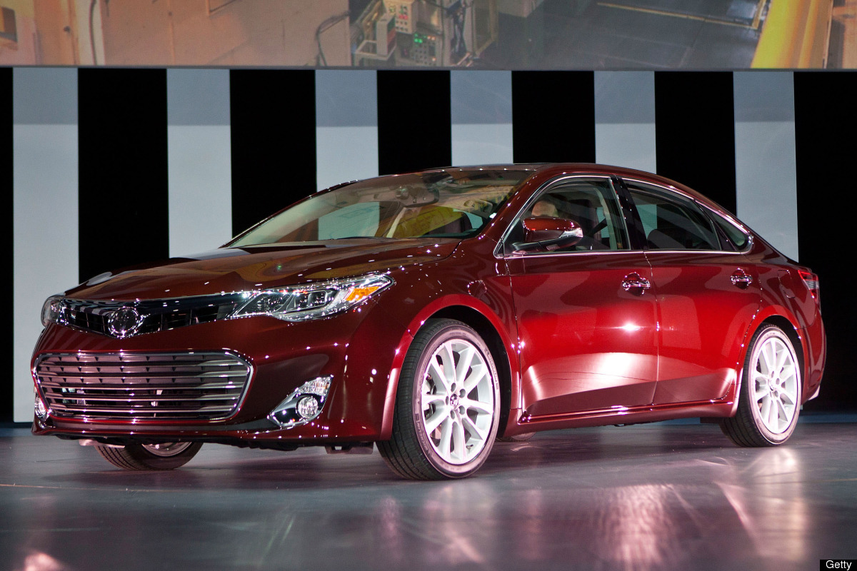 NEW YORK, NY - APRIL 05:  The new Toyota Avalon is introduced at the 2012 New York Interantional Auto Show on April 5, 2012 i