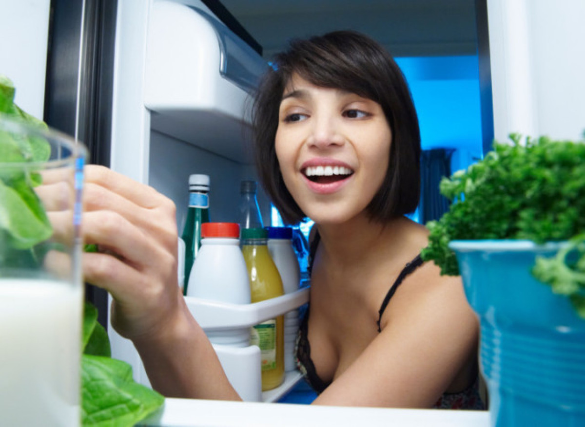 Go through your refrigerator and throw away all expired and long 