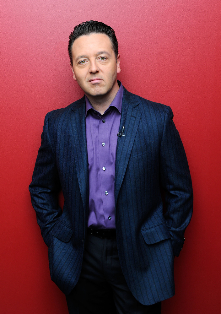 "John Edward, 42, produced and hosted ""Crossing Over With John Edward"" and ""John Edward Cross Country,"" in which he connected"