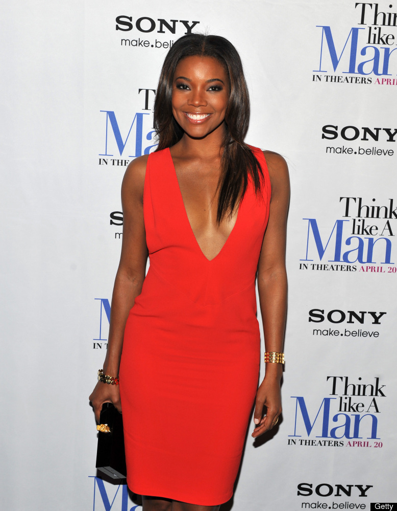 NEW YORK, NY - APRIL 04: Gabrielle Union attends the 'Think Like a Man' screening at the AMC Empire 25 theater on April 4, 20