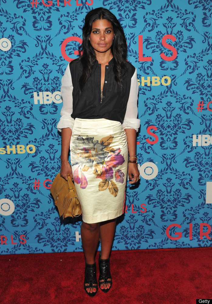 NEW YORK, NY - APRIL 04:  Designer Rachel Roy attends the HBO with The Cinema Society host the New York premiere of HBO's 'Gi