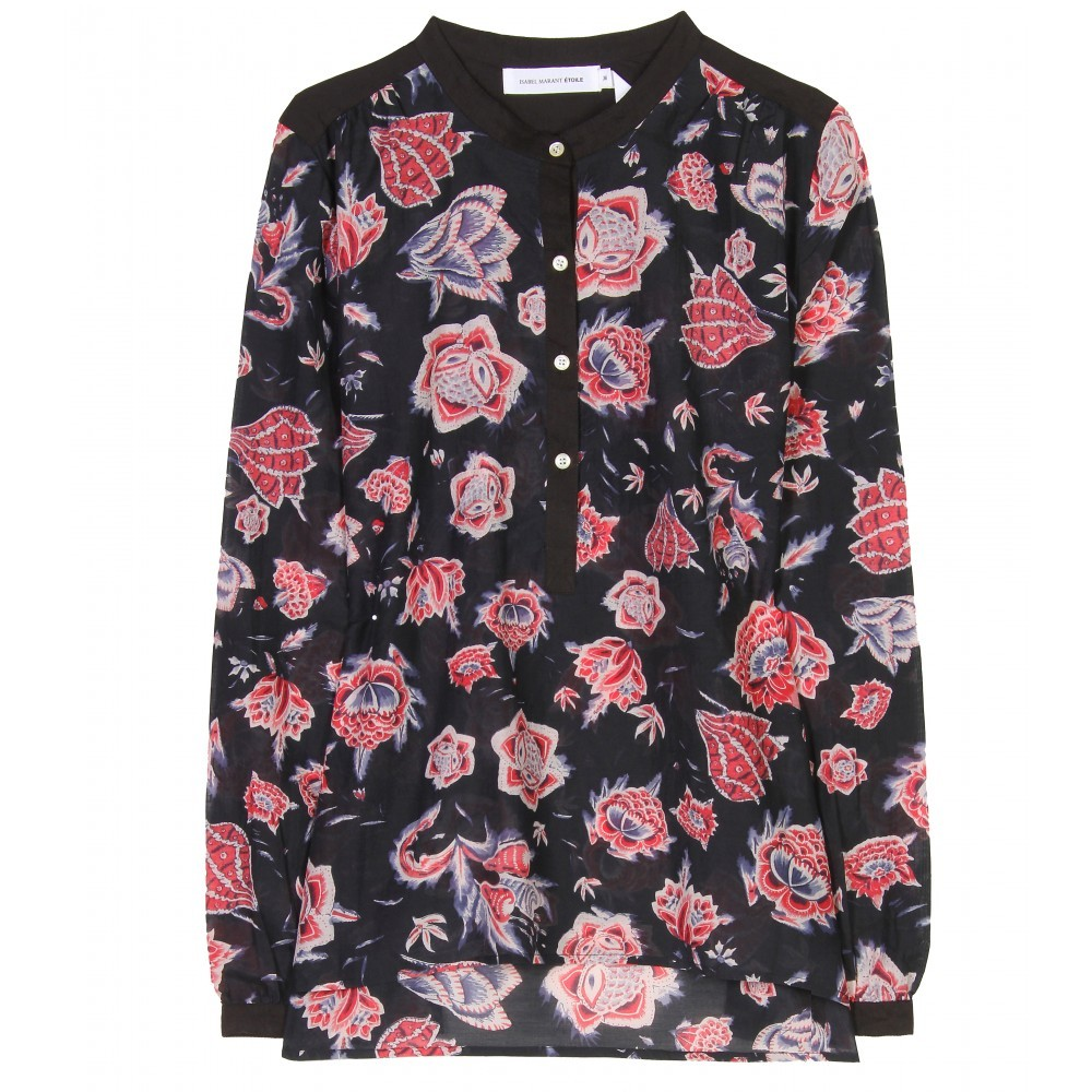 """<a href=""""http://www.mytheresa.com/us_en/hector-floral-print-blouse.html?quid=61029863468S1086032T&gkid=466059874"""" target=""""_hp"""