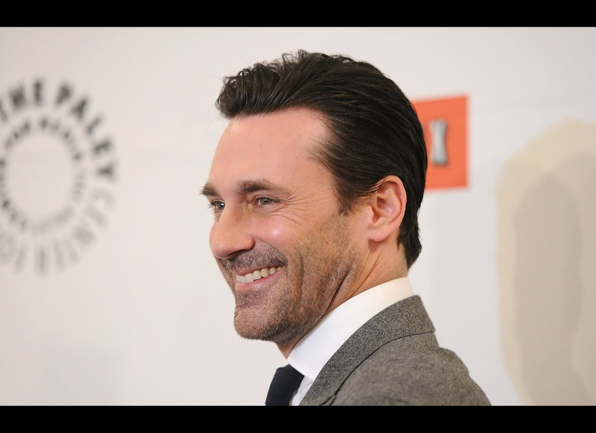 """When """"Mad Men"""" actor Hamm was just 20, he experienced chronic depression following his father's death. The structured environ"""