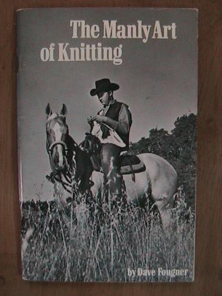 "There's just something so manly about knitting atop a horse. (Via <a href=""http://justmako.tumblr.com/post/16681936693/someon"