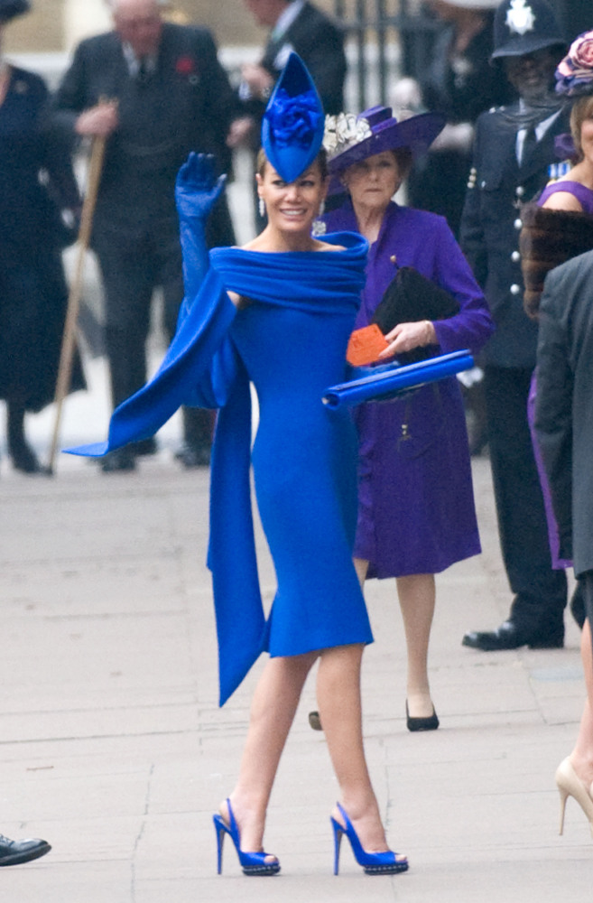 Palmer-Tomkinson is a friend of Prince William and his family.  (WireImage photo)