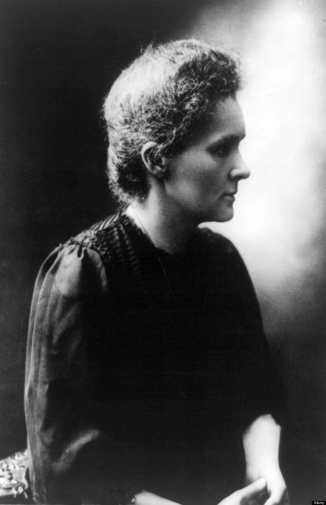 People see her as some old scientist. But to look at her body of work -- and her two Nobel Prizes (one for Physics, one for C
