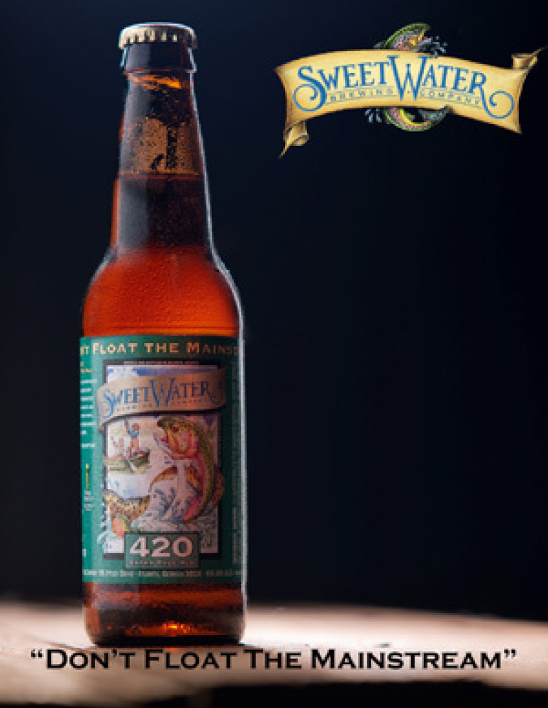 While watching the Braves play, try a couple of terrific beers from hometown brewery SweetWater. Try the crisp and fragrant 4
