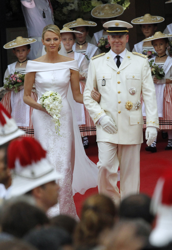The former Olympic swimmer, who hails from South Africa, married Prince Albert II of Monaco on July 1, 2011 in a civil ceremo