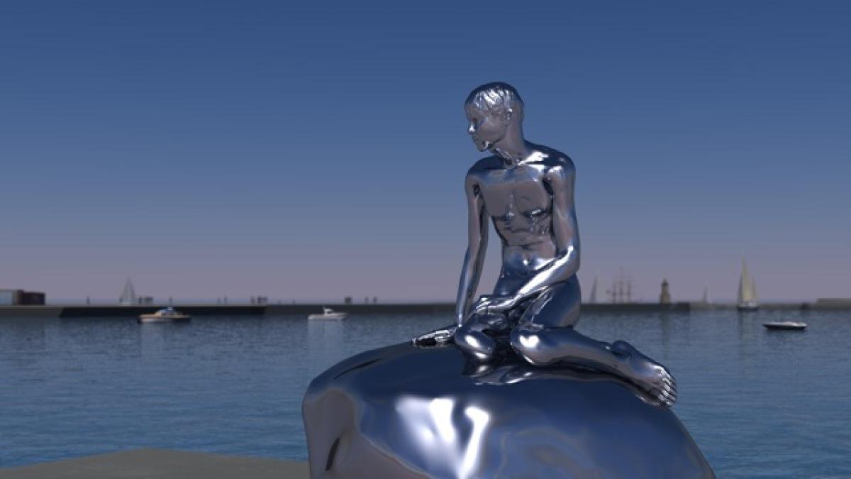 little mermaid statue in denmark celebrates 100 years huffpost