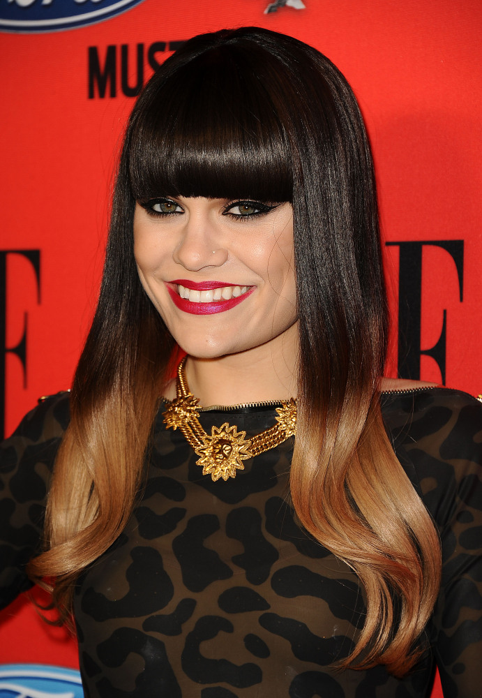"""We're totally onboard with celebs rocking <a href=""""http://www.huffingtonpost.com/2012/02/23/prada-ombre-hair_n_1297828.html"""""""