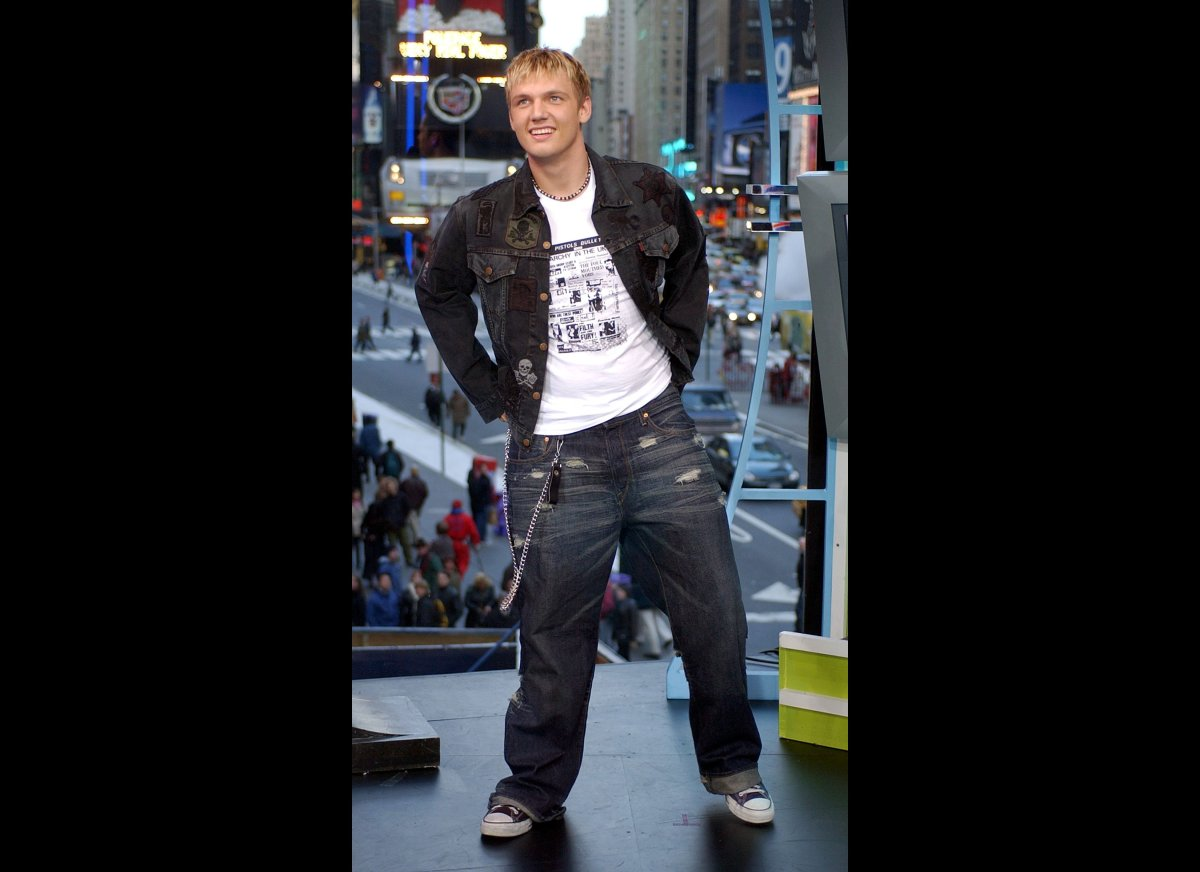Oh Nick Carter. You stole young girls' hearts across the nation with your baby face and bright blonde hair. You were also sup