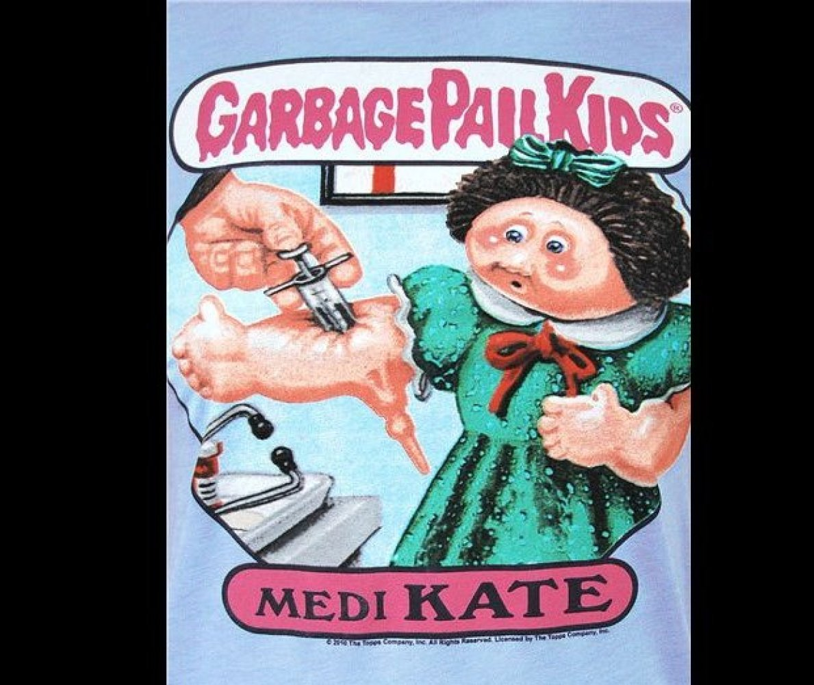 Garbage Pail Kids Black