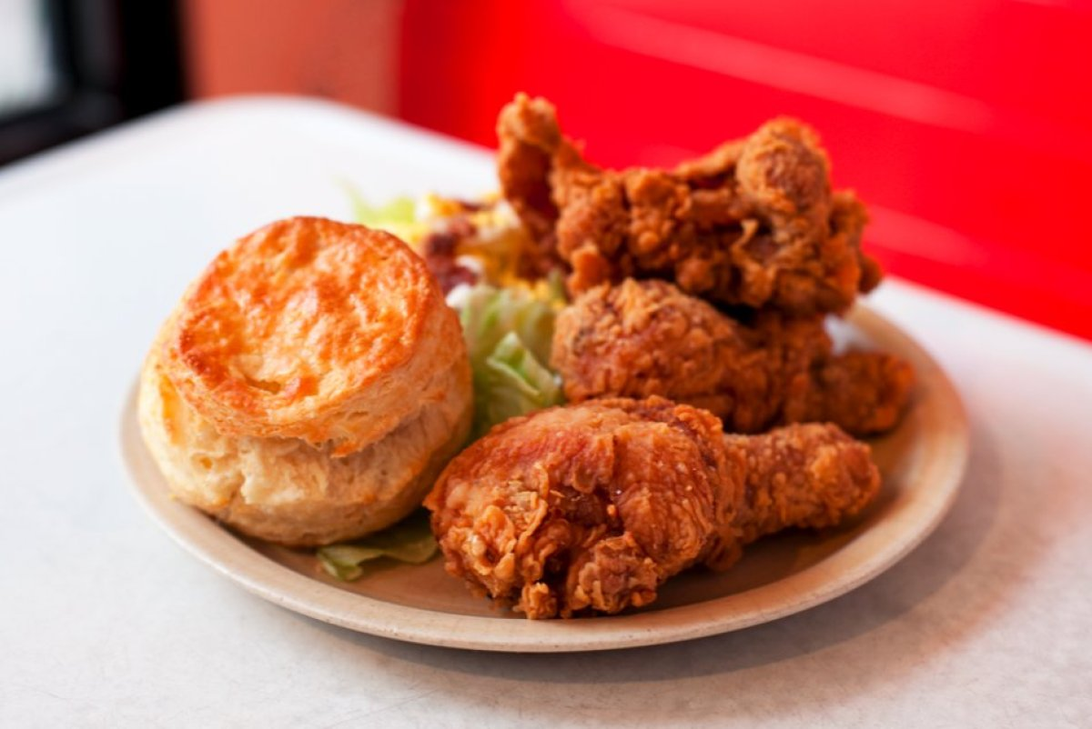 """I'm on the record as a fried-chicken freak,"" says editor in chief Dana Cowin, who wasn't disappointed by this cult Williamsb"
