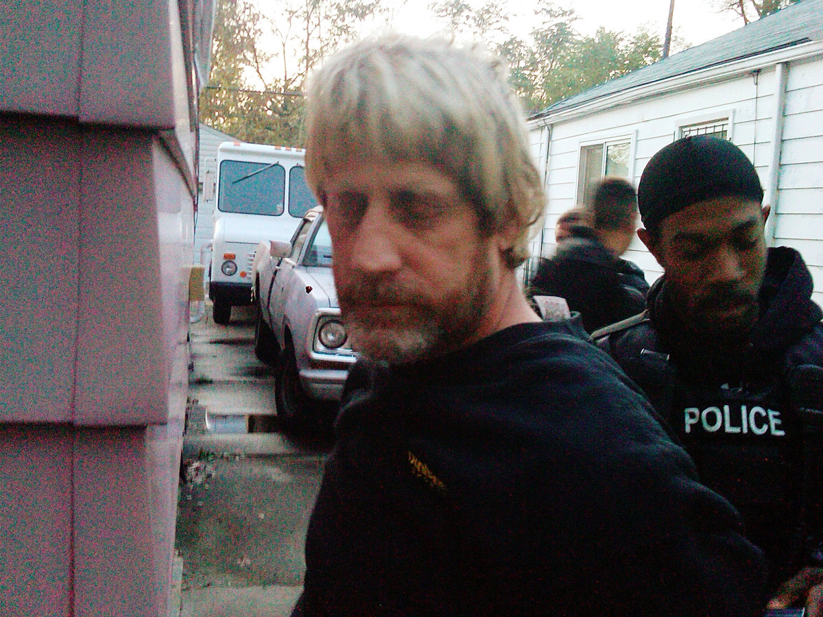 The U.S. Marshall's office released this photo on Nov. 1 of the U.S. Marshals Service 15 Most Wanted fugitive Richard Carl He