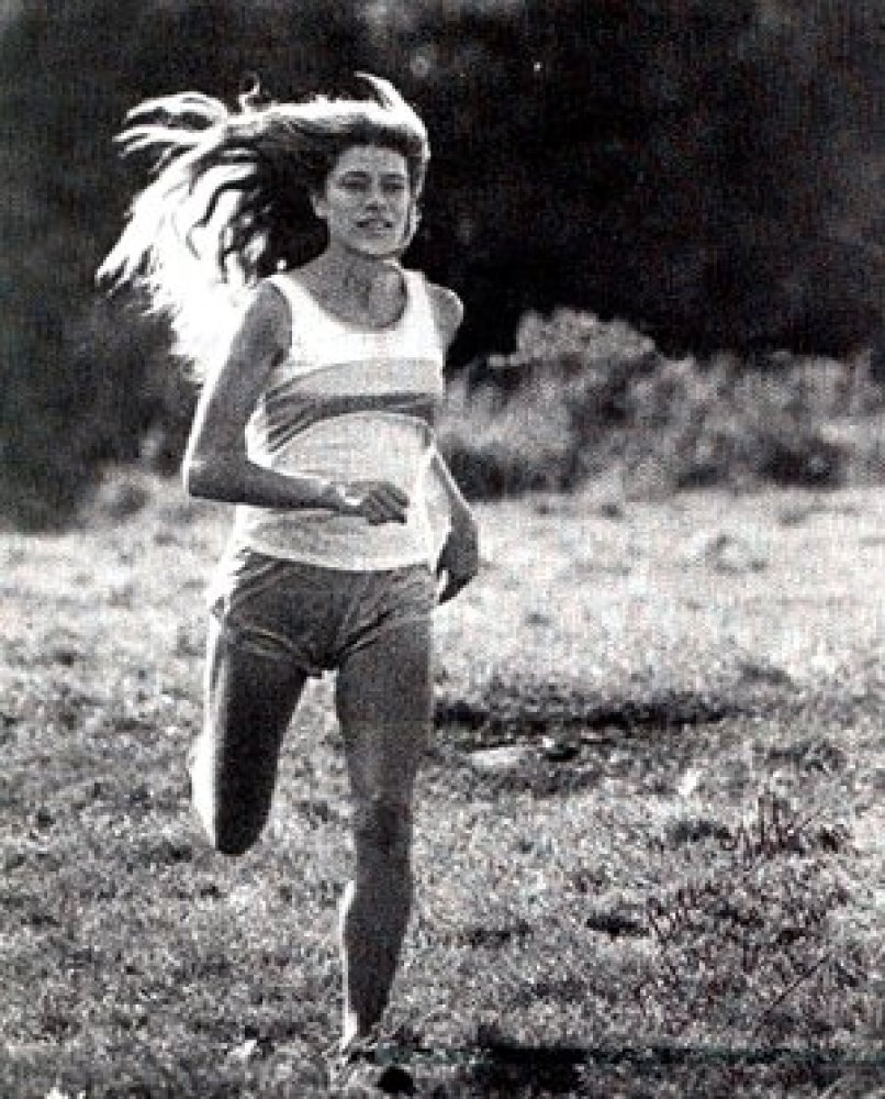 "Roberta Gibb, known as ""the bandit runner,"" was the first woman to run the full Boston Marathon in 1966. She hid in the bushe"