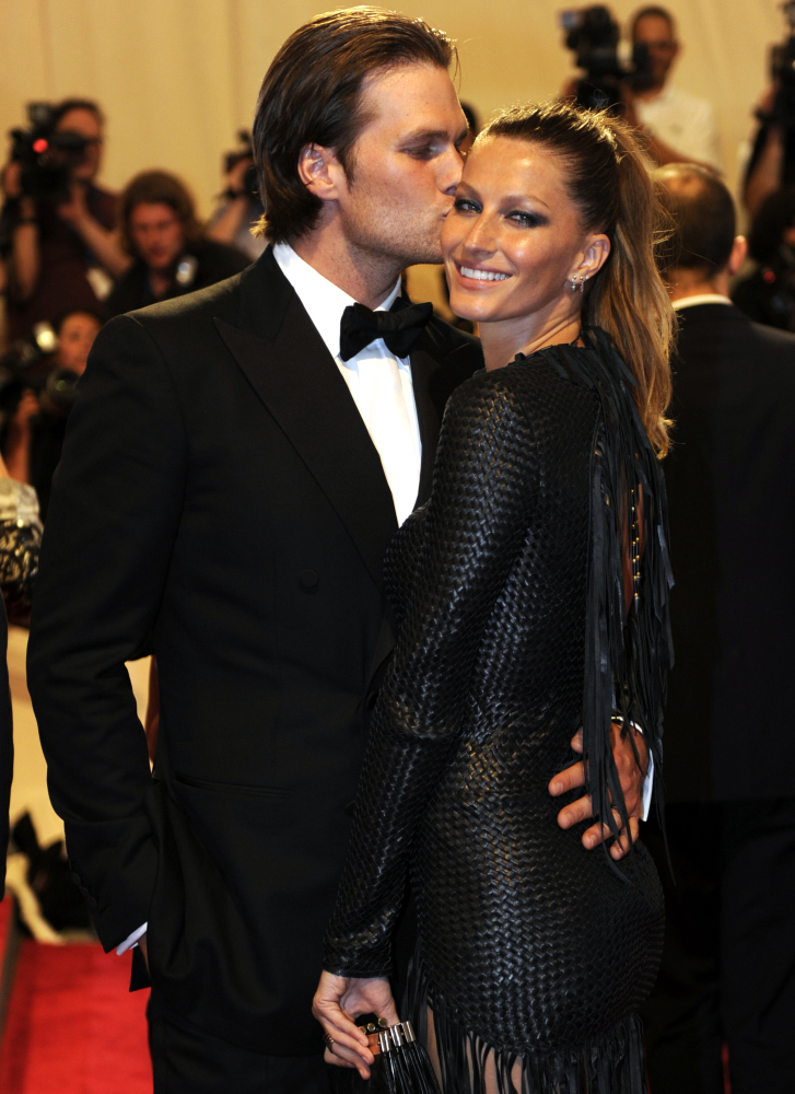 One of the world's most famous couples, Tom Brady & Gisele Bündchen. The couple married February 26, 2009.