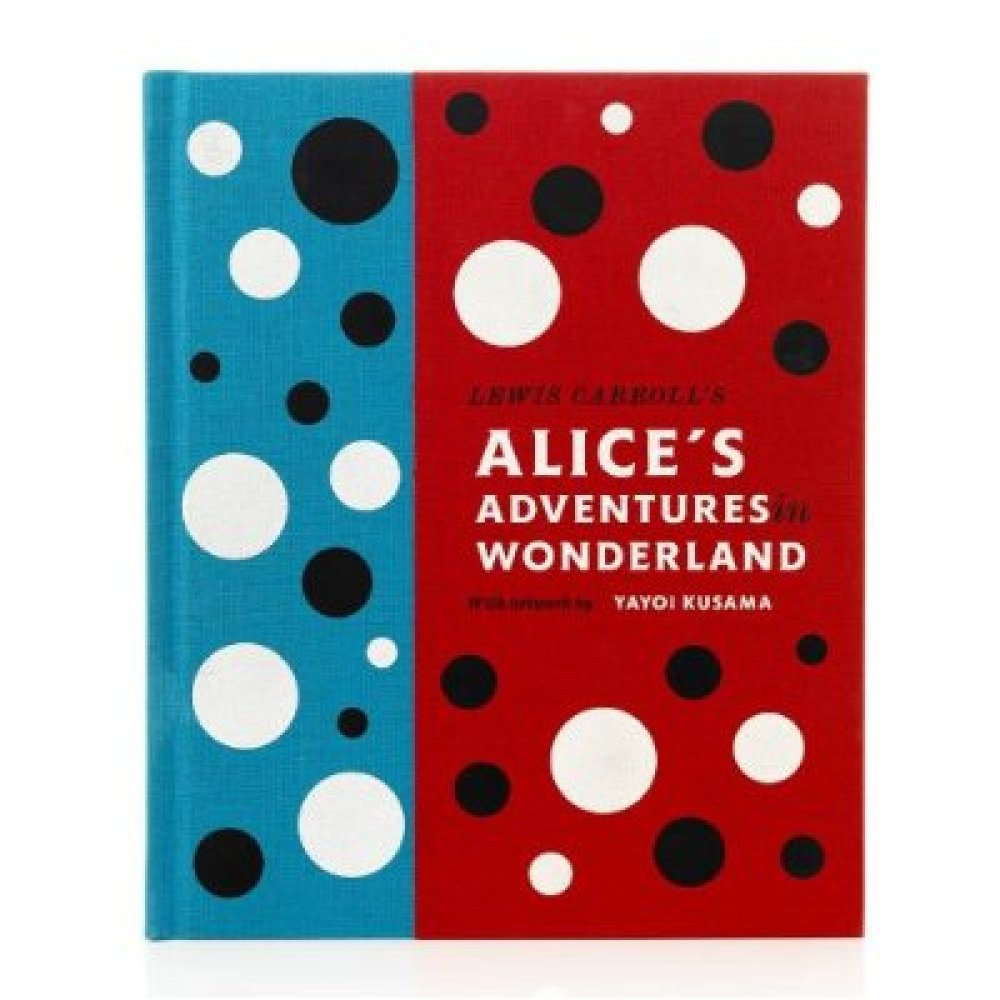 """Lewis Carroll's Alice's Adventures in Wonderland: With Artwork by Yayoi Kusama; image from <a href=""""http://www.amazon.com/dp/"""