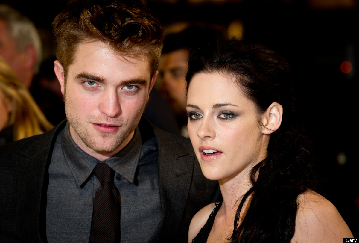 "The ""Twilight"" stars play lead roles in ""Cosmopolis"" and ""On the Road,"" respectively. (Photo by Ian Gavan/Getty Images)"