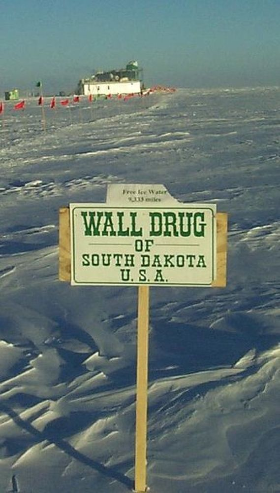 "If you've driven in a car at any point in your life, it's likely you've come in contact with an <a href=""http://www.walldrug."