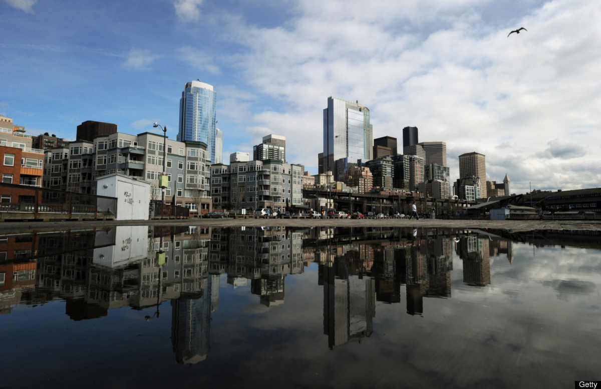 "Seattle tops Public Policy Polling's list: ""57% of American voters see Seattle favorably and only 14% unfavorably."""
