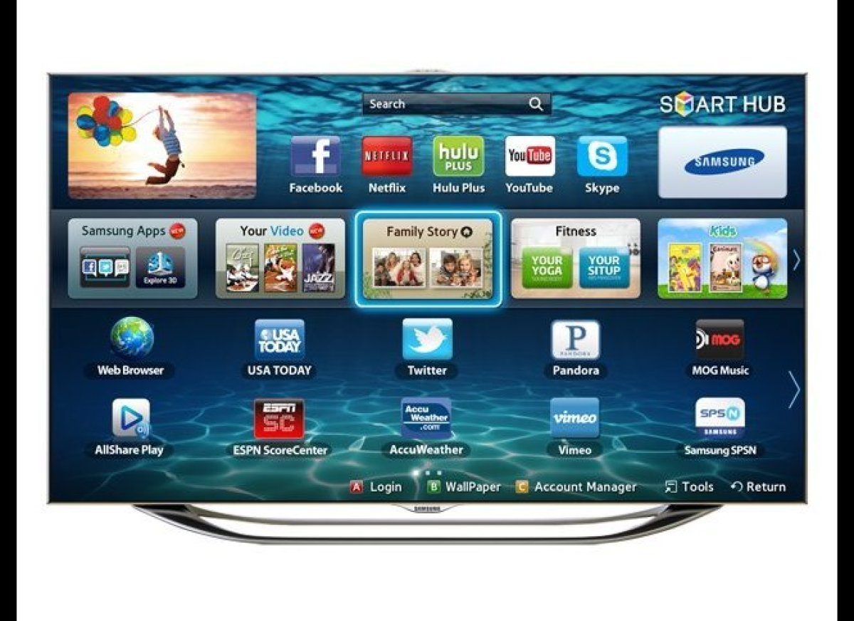 The flat-panel is far from dead, as Samsung proves with its latest 8000 Series L.E.D. HDTVs. Impressive even before you've pl