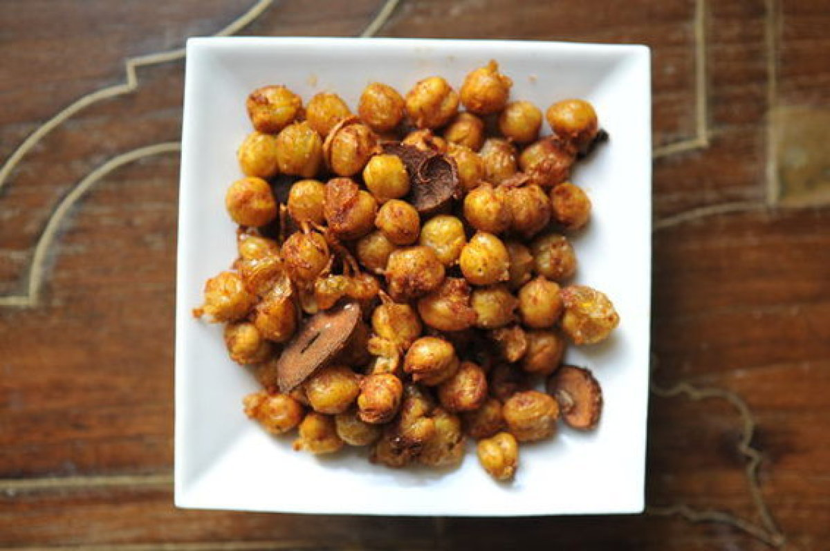If you were to put out a bowl of these crunchy, smoky, spicy little nuggets at a cocktail party, it's likely they'd be gone i
