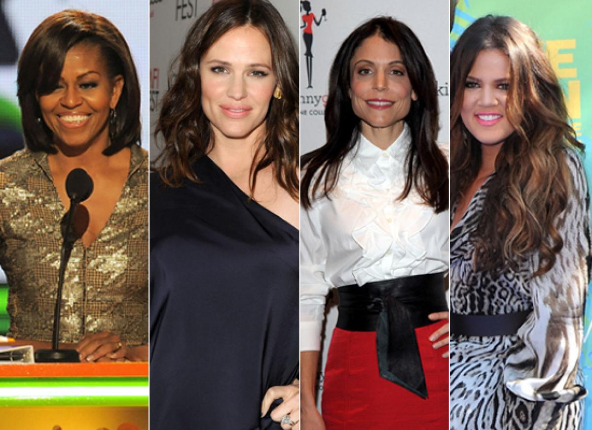 A) Michelle Obama B) Jennifer Garner C) Bethenny Frankel D) Khloe Kardashian Odom