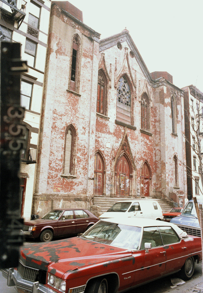 This circa 1983-1988 photo provided by the New York City Municipal Archives shows 172 Norfolk Street, which is now the Angel