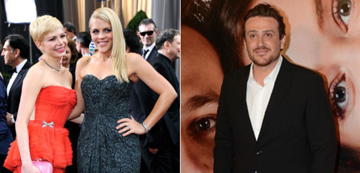 """Busy Philipps is <a href=""""http://www.huffingtonpost.com/2012/03/28/michelle-williams-jason-segel-dating-new-couple_n_1384932."""