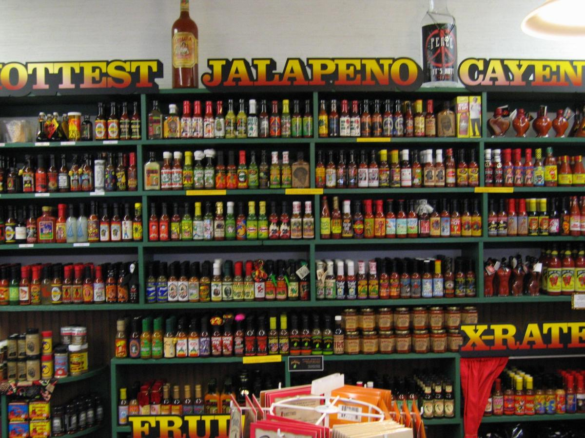 Driven by immigration and international demand, hot sauce production has seen steady annual revenue growth of 9.3 percent in