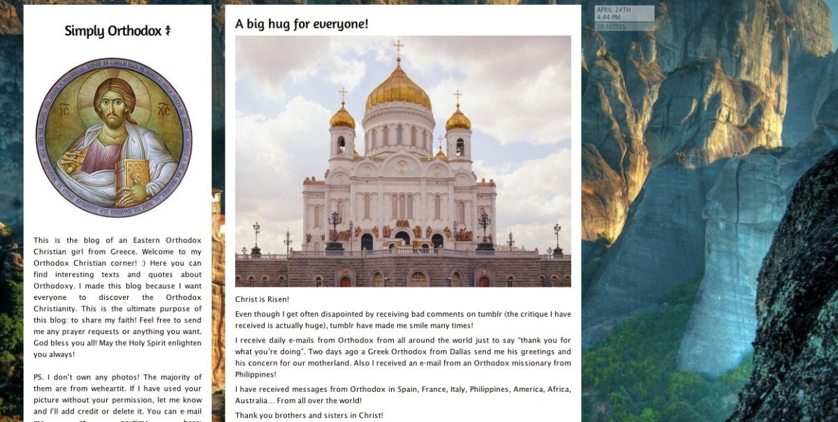 """""""This is the blog of an Eastern Orthodox Christian girl from Greece. Welcome to my Orthodox Christian corner! :) Here you can"""