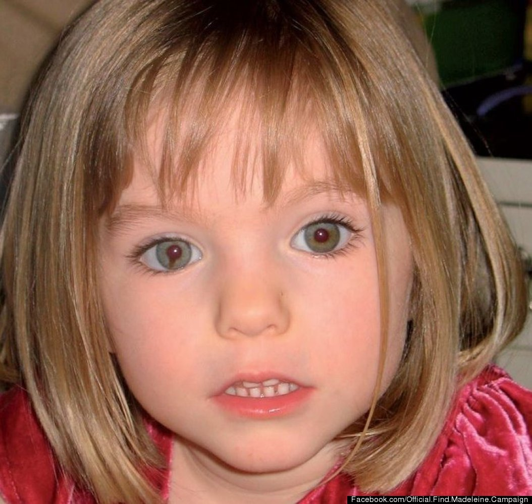 A photo of Madeleine McCann that was taken when she was 3 years old.