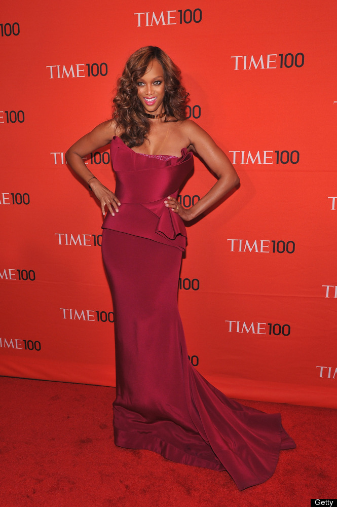 NEW YORK, NY - APRIL 24:  Tyra Banks attends the TIME 100 Gala celebrating TIME'S 100 Most Influential People In The World at
