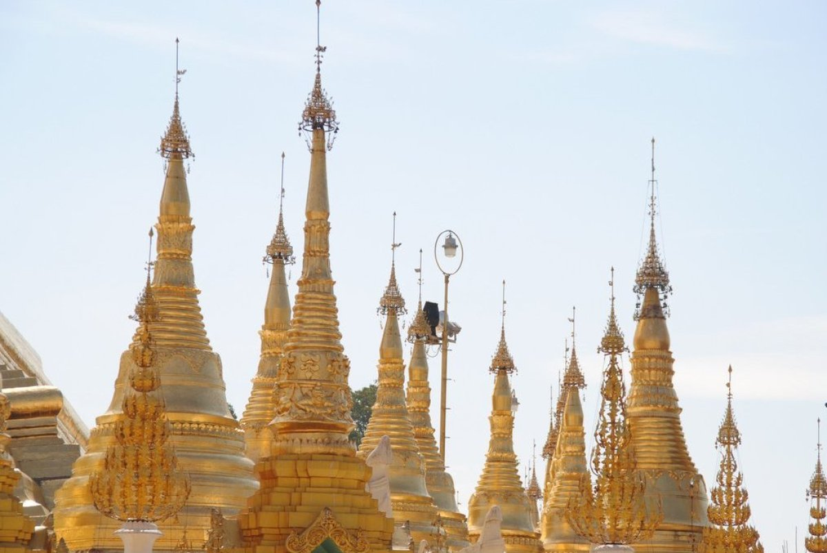 Since it isn't currently possible to enter Myanmar by land, all tourists arrive by air in the dusty capital city of Yangon. A