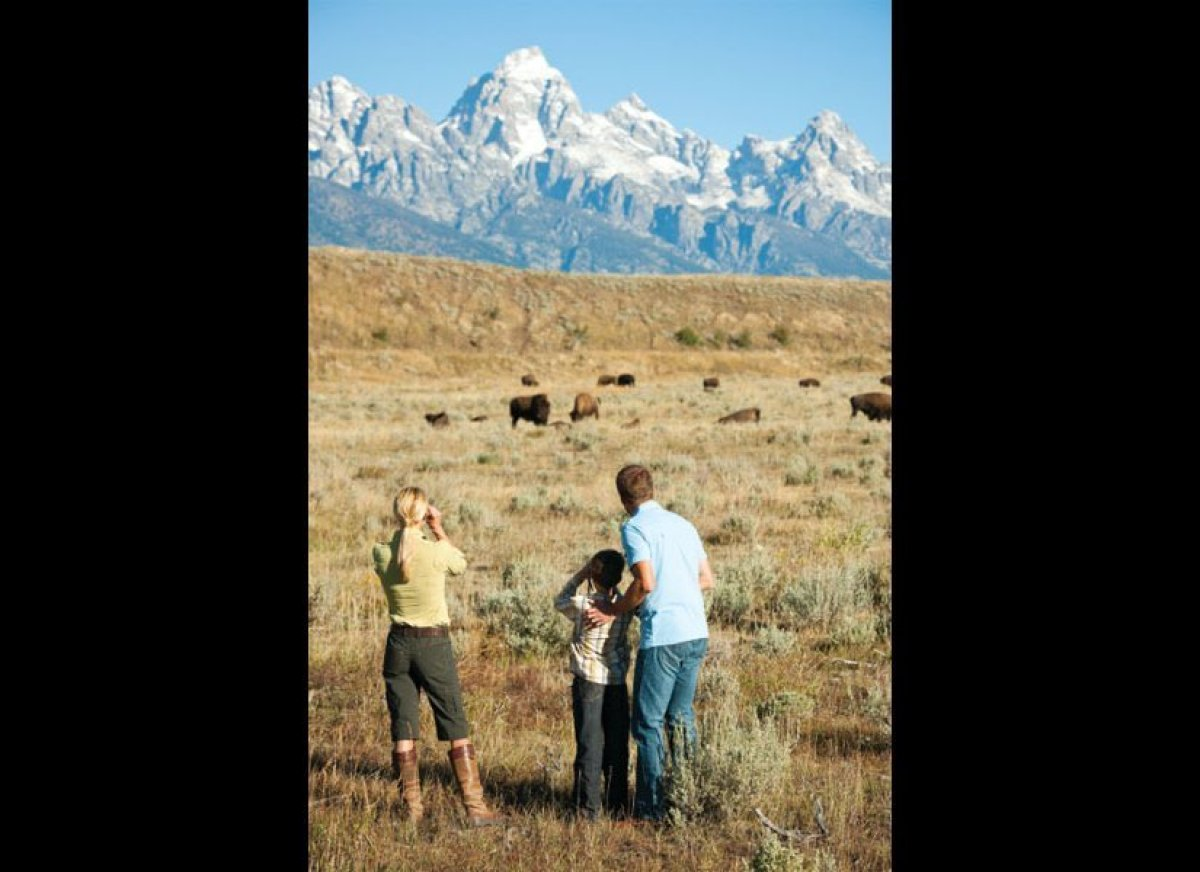 Stargazing conditions are often ideal at Four Seasons Resort Jackson Hole. This luxury getaway on Wyoming's most famous summi